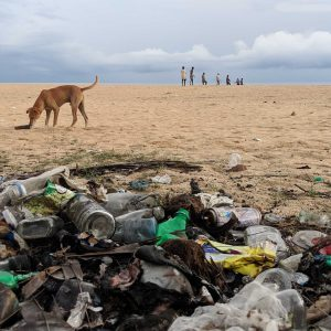 Plastic pollution in Sri Lanka