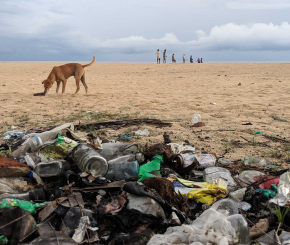 Plastic pollution in Sri Lanka