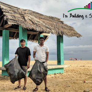 A day to clean the beach