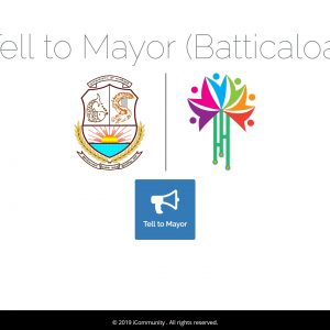 Tell to Mayor – Citizen Journalism at it's easiest form